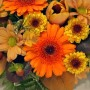 orange-and-gold-posy-arrangement